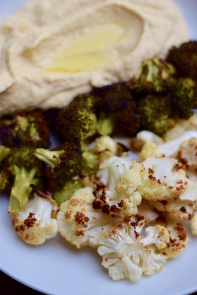 Blumenkohl und Brokkoli aus dem Ofen