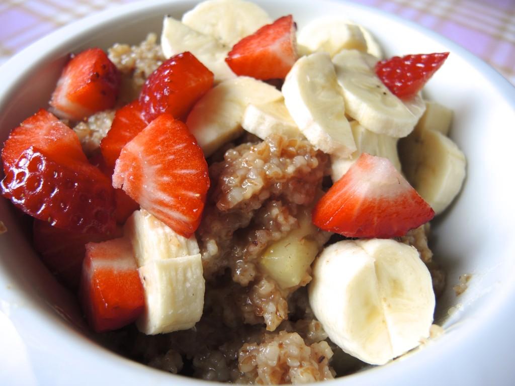 Frühstück Getreidebrei