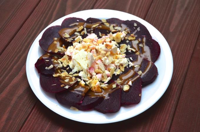 Rote Bete - Schafskäse - Salat
