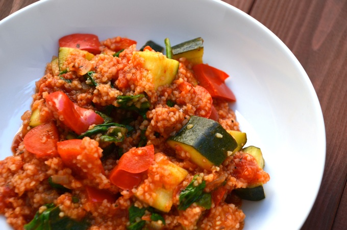 One Pot Bulgur