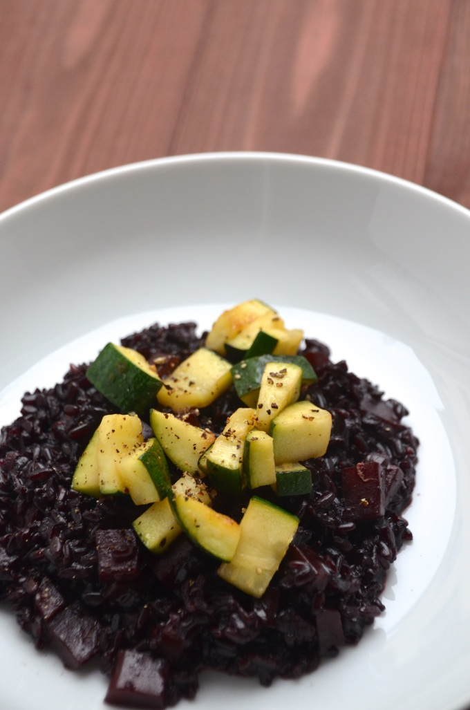 Reis mit Zucchini