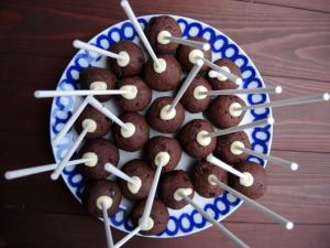 Schwarzwälderkirsch Cake Pops