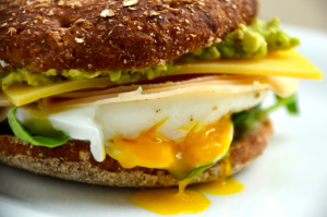 Der Frühstücksburger