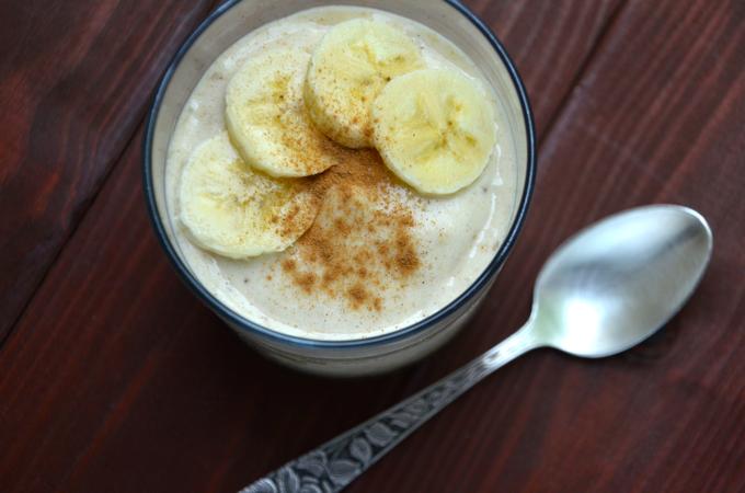Bananen-Zimt-Eis