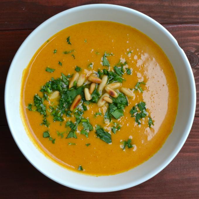 Süßkartoffel Kokos Suppe