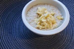 Winterliches Frühstück aka Porridge