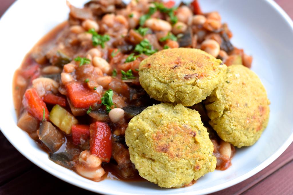 Ratatouille mit Falafel
